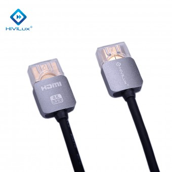 HiViLux Ultra Slim flexible Highspeed HDMI OFC-Kabel Metal V2,0b