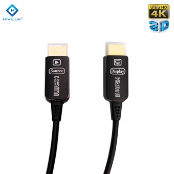 HiViLux flexible Highspeed HDMI Optisch Kabel Metal V2,0b