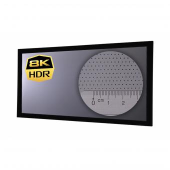 21:9 Rahmenleinwand 10cm Rahmenstärke HiViGrey Cinema 5DMP/HDR Akustik