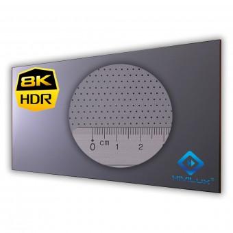 16:9 fixed frame screen Zero framewidth HIViGrey Cinema 5DMP/HDR acoustics