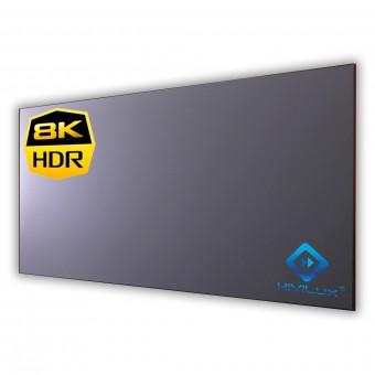 16:9 fixed frame screen Zero framewidth HiViGrey Cinema 5D/HDR