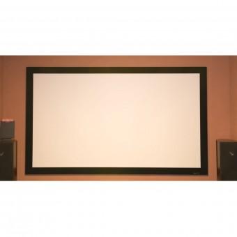 21:9 Rahmenleinwand 10cm Rahmenstärke HiViWhite Cinema 4K